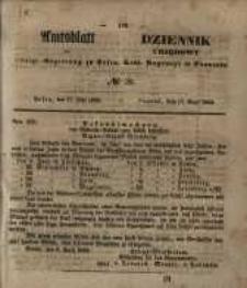 Amtsblatt der Königlichen Regierung zu Posen. 1853.05.17 Nro.20
