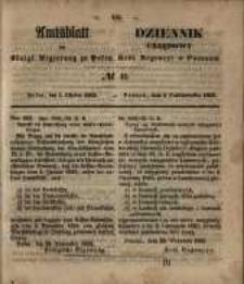 Amtsblatt der Königlichen Regierung zu Posen. 1853.10.04 Nro.40