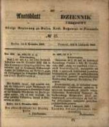 Amtsblatt der Königlichen Regierung zu Posen. 1853.11.08 Nro.45