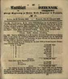 Amtsblatt der Königlichen Regierung zu Posen. 1853.11.29 Nro.48