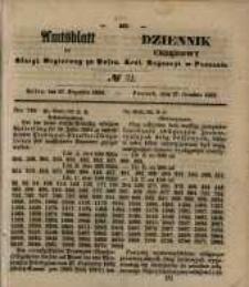 Amtsblatt der Königlichen Regierung zu Posen. 1853.12.27 Nro.52