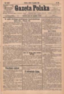 Gazeta Polska: codzienne pismo polsko-katolickie dla wszystkich stanów 1929.12.21 R.33 Nr295