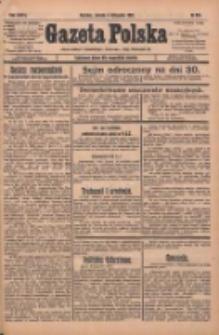 Gazeta Polska: codzienne pismo polsko-katolickie dla wszystkich stanów 1932.11.05 R.36 Nr255