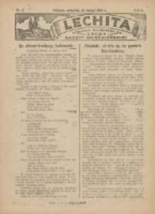 Lechita: dodatek niedzielny do Lecha - Gazety Gnieźnieńskiej 1925.02.12 R.2 Nr7