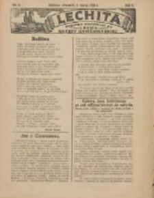 Lechita: dodatek niedzielny do Lecha - Gazety Gnieźnieńskiej 1925.03.05 R.2 Nr9