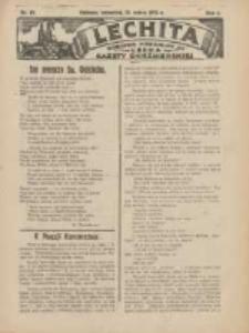 Lechita: dodatek niedzielny do Lecha - Gazety Gnieźnieńskiej 1925.03.12 R.2 Nr10