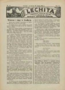 Lechita: dodatek niedzielny do Lecha - Gazety Gnieźnieńskiej 1925.05.14 R.2 Nr18