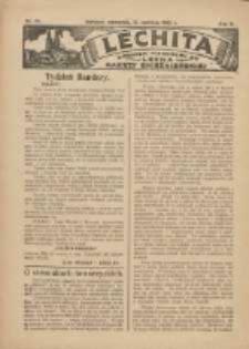 Lechita: dodatek niedzielny do Lecha - Gazety Gnieźnieńskiej 1925.06.11 R.2 Nr22
