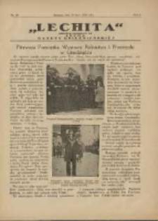 Lechita: dodatek niedzielny do Lecha - Gazety Gnieźnieńskiej 1925.07.19 R.2 Nr29