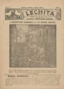 Lechita: dodatek niedzielny do Lecha - Gazety Gnieźnieńskiej 1925.02.05 R.2 Nr6