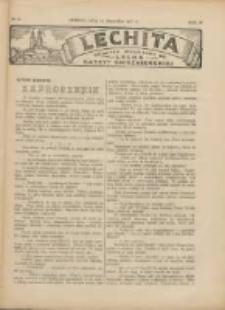 Lechita: dodatek niedzielny do Lecha - Gazety Gnieźnieńskiej 1927.08.14 R.4 Nr34
