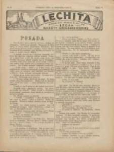 Lechita: dodatek niedzielny do Lecha - Gazety Gnieźnieńskiej 1927.09.11 R.4 Nr38