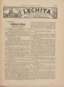 Lechita: dodatek niedzielny do Lecha - Gazety Gnieźnieńskiej 1927.11.13 R.4 Nr47