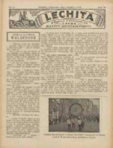 Lechita: dodatek niedzielny do Lecha - Gazety Gnieźnieńskiej 1930.03.09 R.7 Nr10