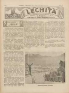 Lechita: dodatek niedzielny do Lecha - Gazety Gnieźnieńskiej 1933.01.29 R.10 Nr5