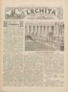 Lechita: dodatek niedzielny do Lecha - Gazety Gnieźnieńskiej 1933.04.09 R.10 Nr15