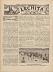 Lechita: dodatek niedzielny do Lecha - Gazety Gnieźnieńskiej 1933.07.09 R.10 Nr28