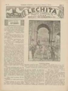 Lechita: dodatek niedzielny do Lecha - Gazety Gnieźnieńskiej 1933.08.27 R.10 Nr35