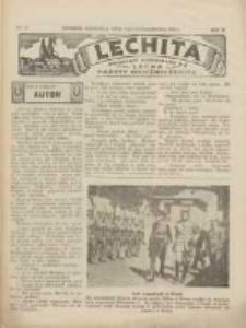 Lechita: dodatek niedzielny do Lecha - Gazety Gnieźnieńskiej 1933.10.08 R.10 Nr41