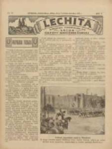 Lechita: dodatek niedzielny do Lecha - Gazety Gnieźnieńskiej 1933.10.22 R.10 Nr43