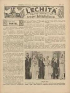Lechita: dodatek niedzielny do Lecha - Gazety Gnieźnieńskiej 1936.02.16 R.13 Nr7