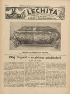 Lechita: dodatek niedzielny do Lecha - Gazety Gnieźnieńskiej 1936.04.26 R.13 Nr17