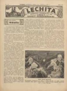 Lechita: dodatek niedzielny do Lecha - Gazety Gnieźnieńskiej 1936.06.21 R.13 Nr25