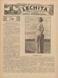Lechita: dodatek niedzielny do Lecha - Gazety Gnieźnieńskiej 1936.07.19 R.13 Nr29