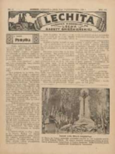 Lechita: dodatek niedzielny do Lecha - Gazety Gnieźnieńskiej 1936.10.18 R.13 Nr42