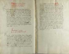 Andreas Cricius Petro Tomicio, Poznań 10.02.1520