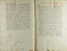 Andreas Cricius administrator ecclesiae Posnaniensis Petro Tomicio, Poznań 5 lub 12.06.1520