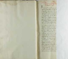 Petro Tomicio episcopo Posnaniensi Andreas Cricius, Brześć Kujawski 31.12.1520