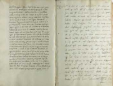 Andreas Cricius Petro Tomicio, Brześć Kujawski 21.01.1521