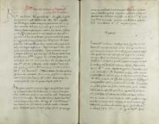 Petro Tomicio episcopo Cracoviensi Andreas Cricius episcopus Premisliensis, Kraków 27.06.1525