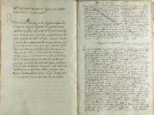 Petrus Tomicki Testimonium ac significatoria, Kraków 28.07.1527