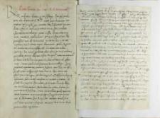 Petro Tomicio Andreas Cricius, Kraków 29.11.1525
