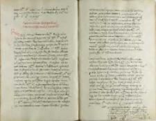 Andreas Cricius Petro Tomicio, Płock 01.09.1528
