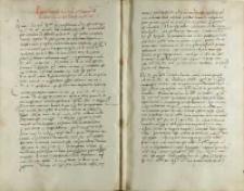 Petrus Tomicki Andree Cricio nepoti suo, Kielce 06.12.1528