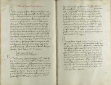 Andreas Cricius Petro Tomicio, Pułtusk 25.01.1531