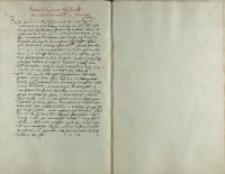 Andreas Cricius episcopus Plocensis gwardiano Warssowiensi et fratribus eius, b.m. 1528