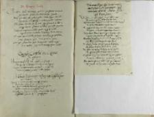 Thomas Nigro episcopus Scardonensis apostolicus ad regem Poloniae Sigismundum nuntius Andree Cricio episcopo Premisliensi