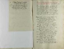 Thomas Negro episcopus Scardonensis ad Andream Cricium episcopum