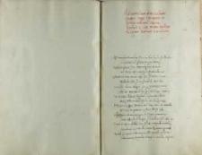 Ad tumulum divi Casimiri fratris regii salutatio in primo adventu Vilnam Andreae Crici inclite Barbarae reginae Poloniae cancellarii
