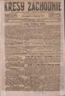 Kresy Zachodnie: pismo poświęcone obronie interesów narodowych na zachodnich ziemiach Polski 1927.01.01 R.5 Nr1
