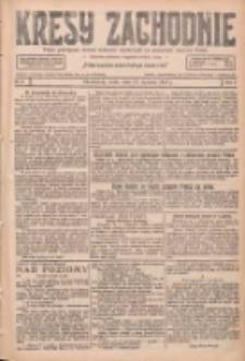 Kresy Zachodnie: pismo poświęcone obronie interesów narodowych na zachodnich ziemiach Polski 1927.01.12 R.5 Nr8