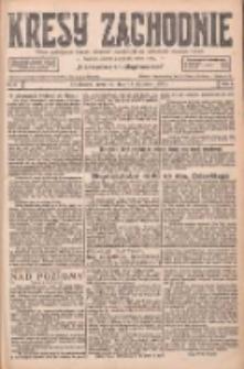 Kresy Zachodnie: pismo poświęcone obronie interesów narodowych na zachodnich ziemiach Polski 1927.01.13 R.5 Nr9