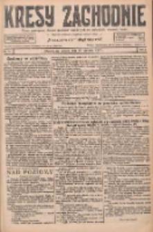 Kresy Zachodnie: pismo poświęcone obronie interesów narodowych na zachodnich ziemiach Polski 1927.01.15 R.5 Nr11