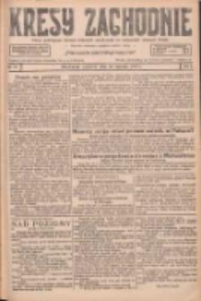 Kresy Zachodnie: pismo poświęcone obronie interesów narodowych na zachodnich ziemiach Polski 1927.01.16 R.5 Nr12