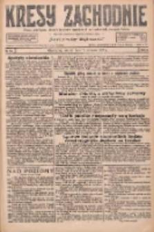 Kresy Zachodnie: pismo poświęcone obronie interesów narodowych na zachodnich ziemiach Polski 1927.01.18 R.5 Nr13