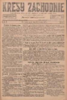 Kresy Zachodnie: pismo poświęcone obronie interesów narodowych na zachodnich ziemiach Polski 1927.01.21 R.5 Nr16